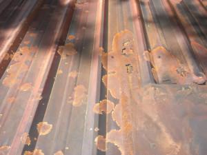Metal Roof Corosion